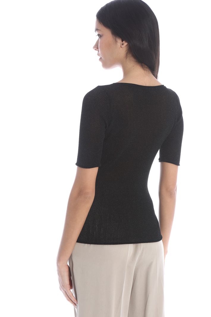 Short sleeved sweater Intrend