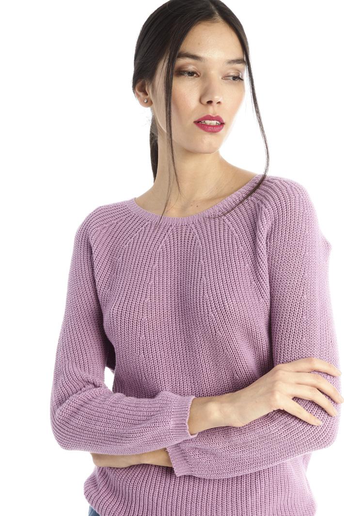Cotton yarn sweater Intrend