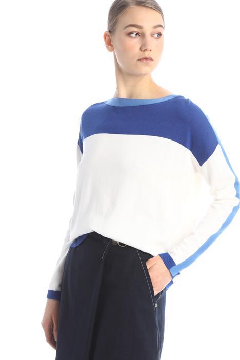 Boxy fit viscose sweater Intrend