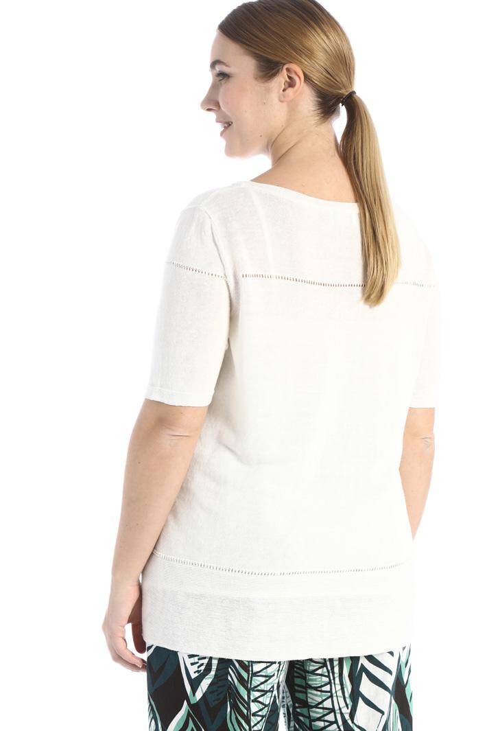 Tech linen sweater Intrend