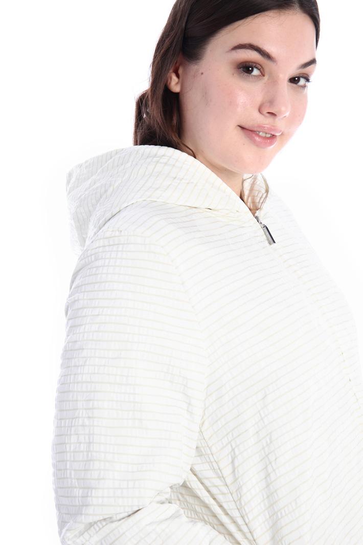 Jacquard puffer jacket Intrend