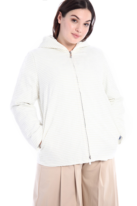Jacquard puffer jacket Intrend