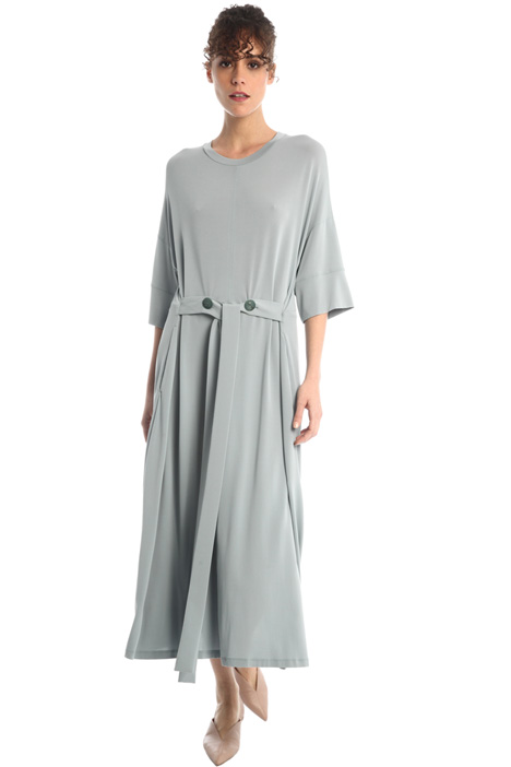 Oversized dress with sash Intrend