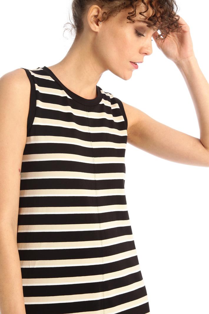 Stretch jersey dress Intrend