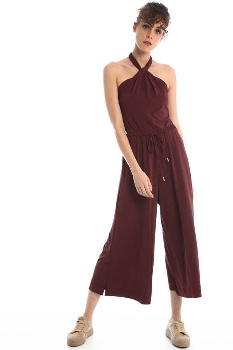 Jumpsuit in crêpe fabric Intrend