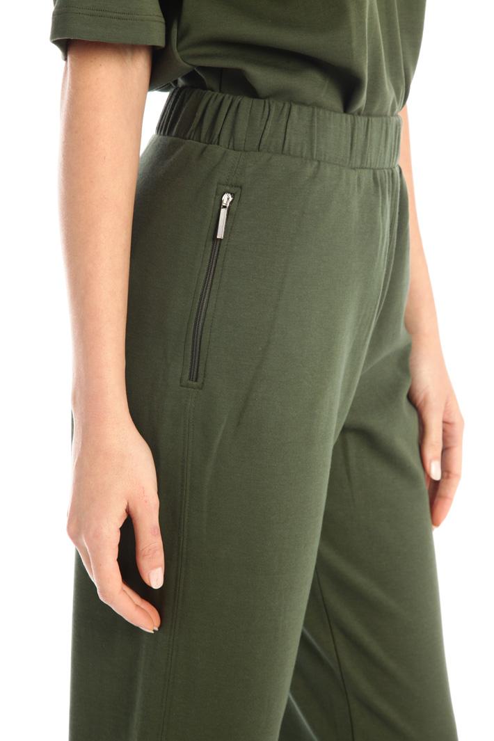 Cotton fleece trousers Intrend