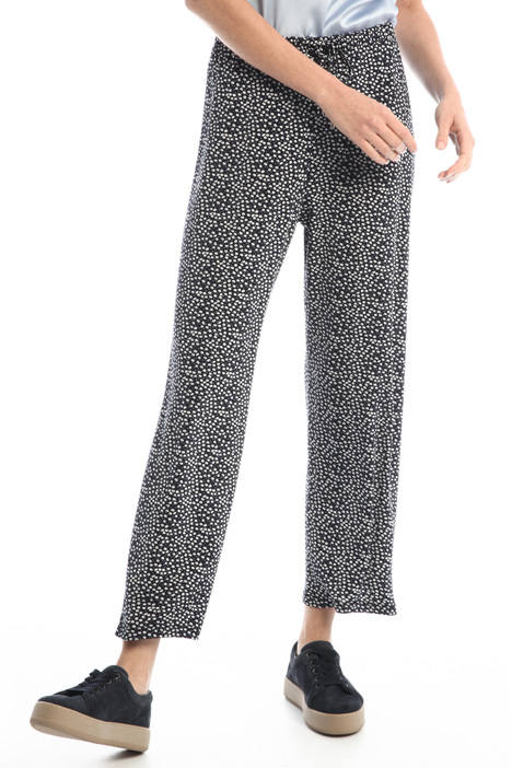 Crop jersey trousers Intrend