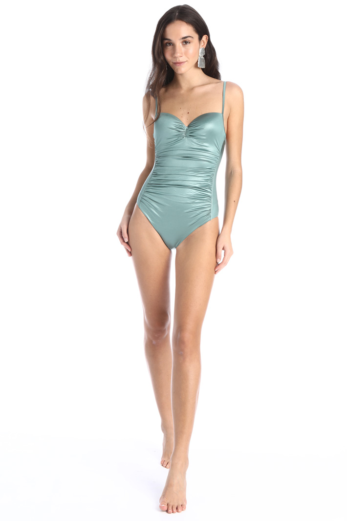 Draped one-piece swimsuit Intrend