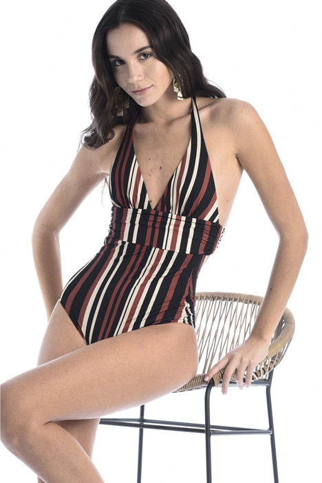 Tie-fastening swimsuit Intrend