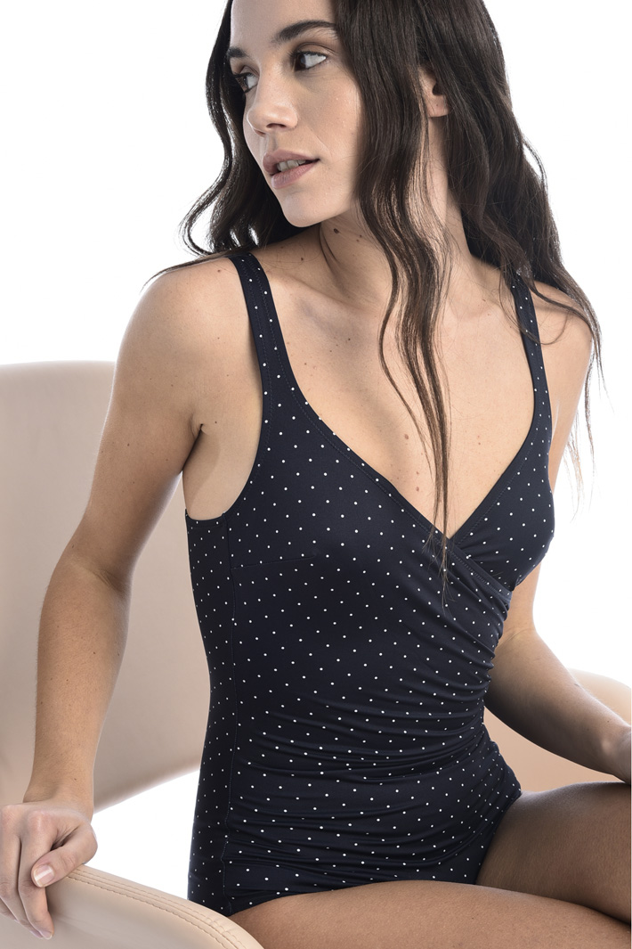 Draped swimsuit Intrend
