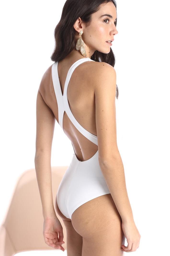 Crossed swimsuit Intrend