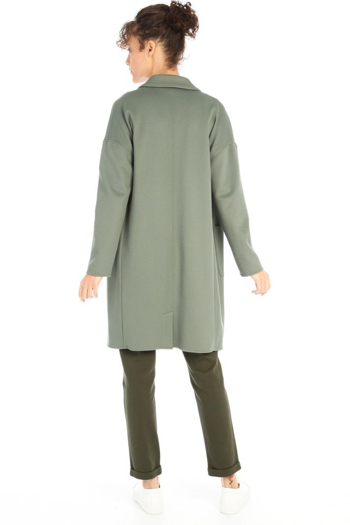 Compact jersey overcoat Intrend