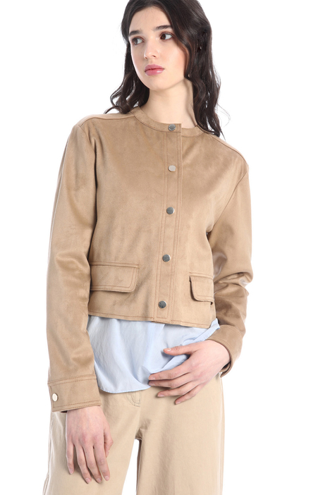 Suede-effect jacket Intrend
