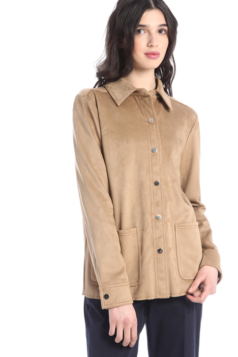 Suede jacket Intrend