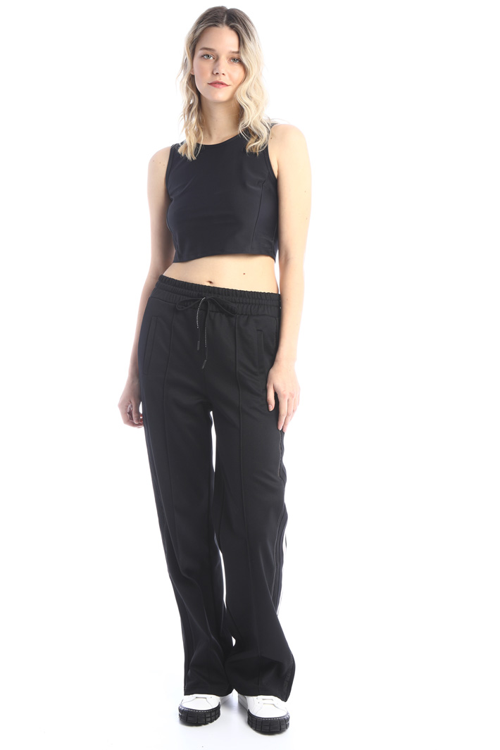 Cropped tech top Intrend