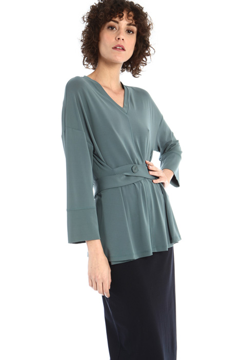 Crepe jersey tunic Intrend