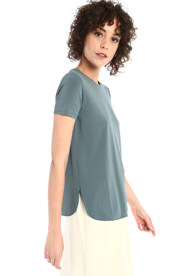 Crepe jersey T-shirt Intrend