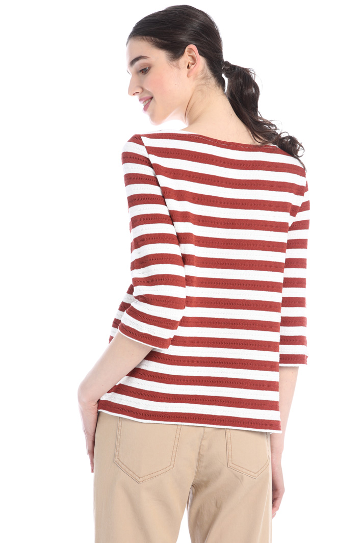 Cotton jersey sweater Intrend