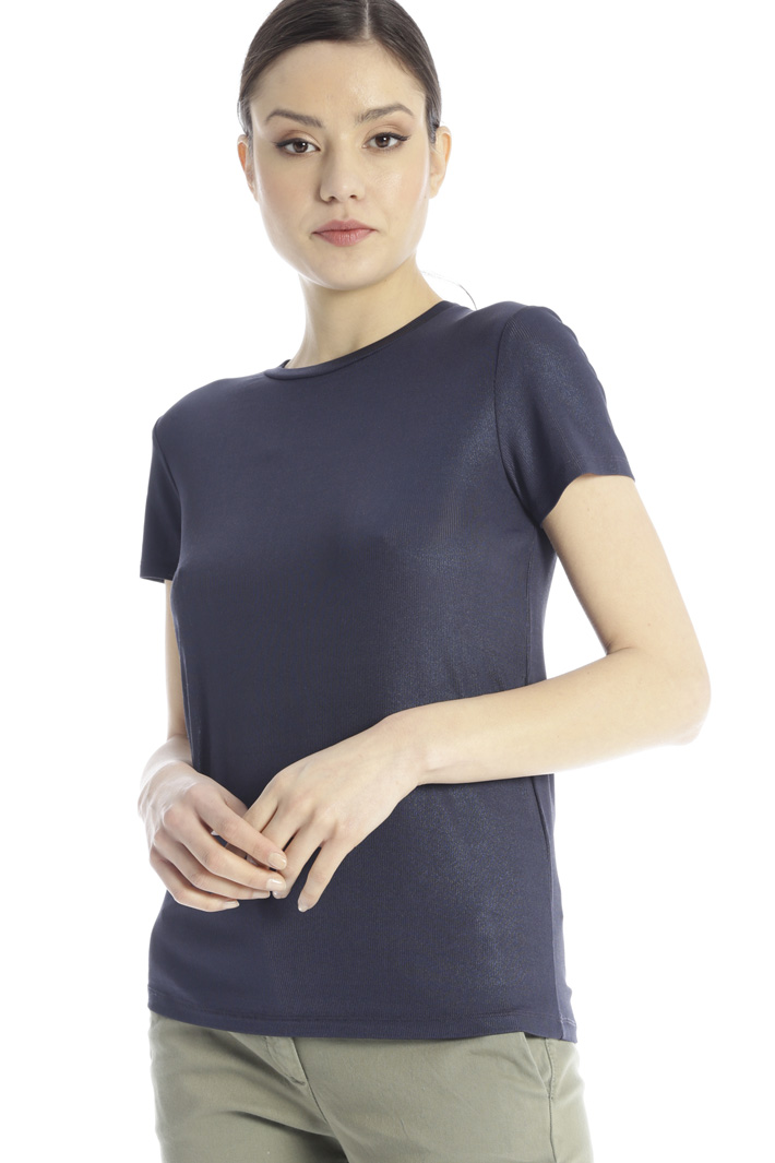 Laminated T-shirt Intrend