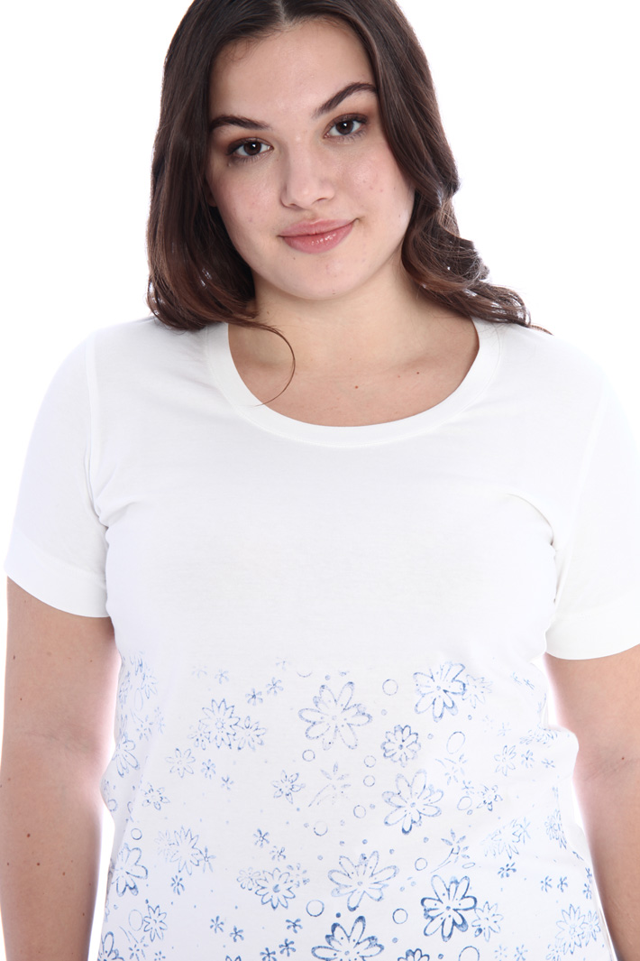 Printed jersey T-shirt Intrend