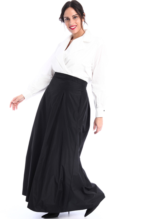 Flared taffeta skirt Intrend