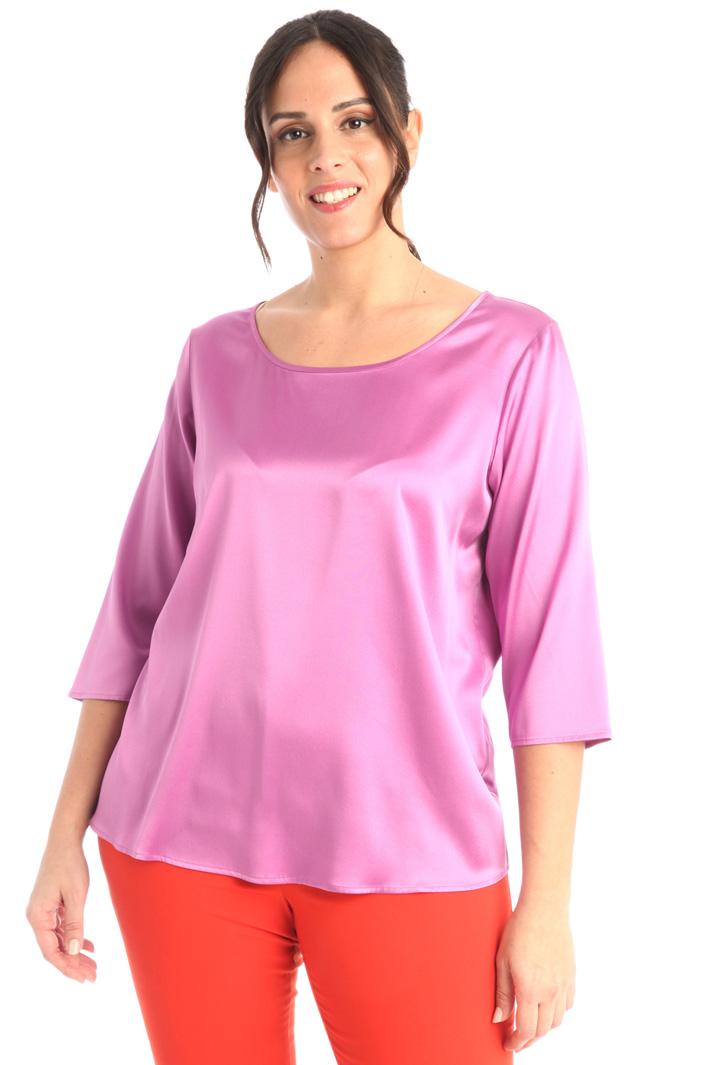 Satin silk blouse Intrend