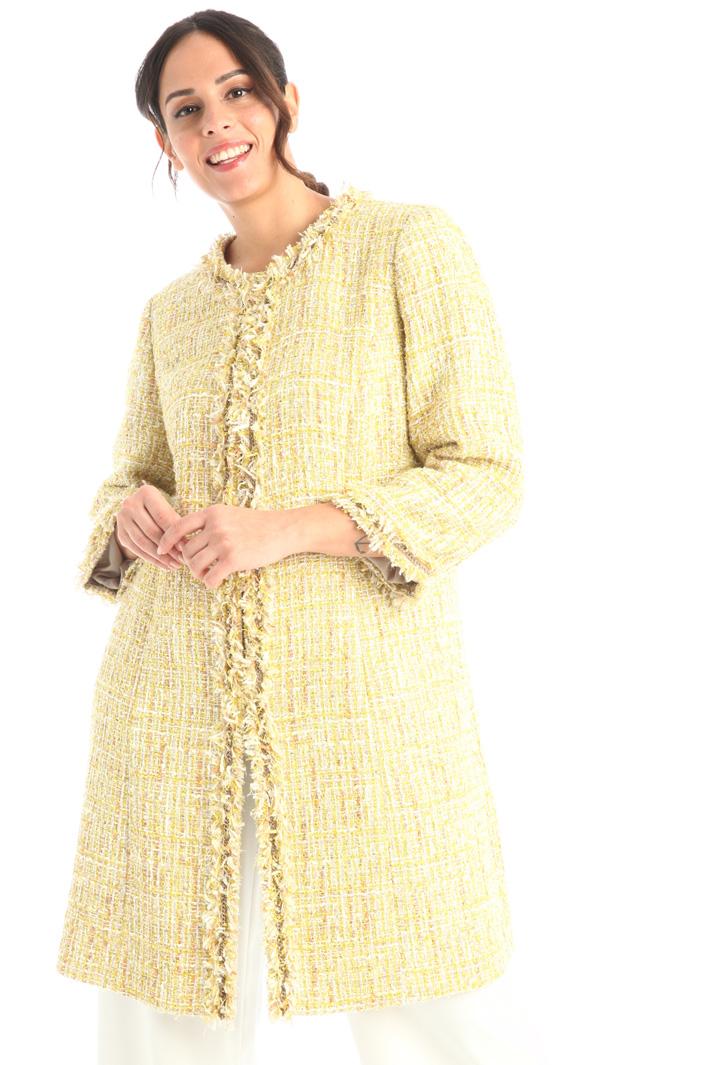 Tweed duster coat Intrend