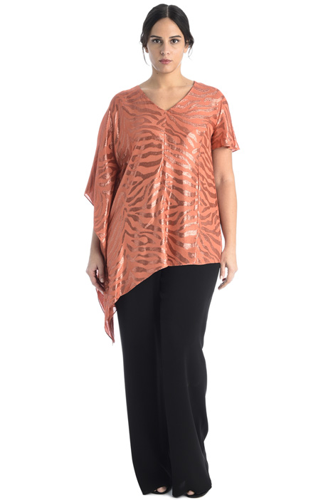 Palazzo trousers in crepe Intrend