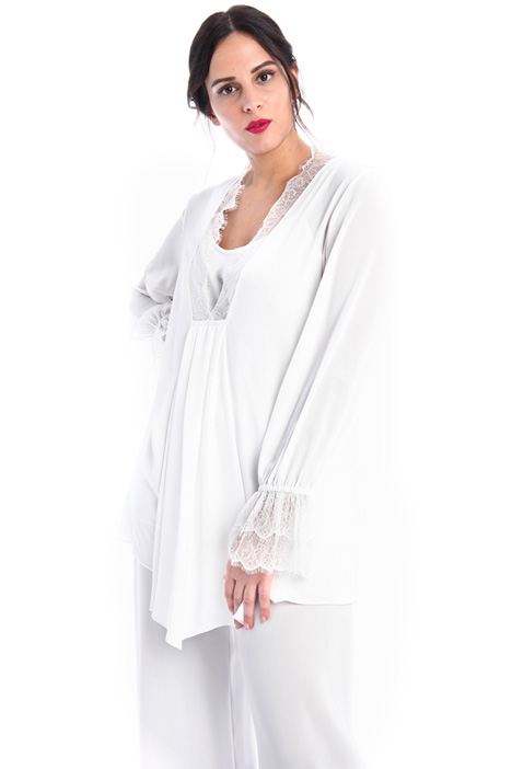 Crepe and lace tunic Intrend