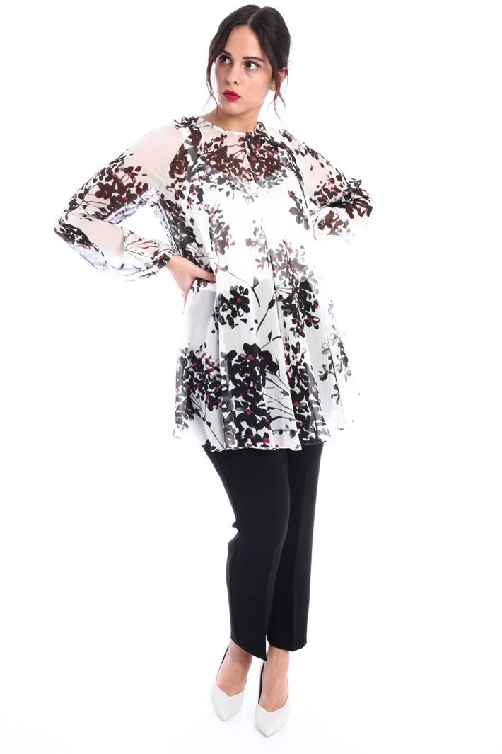 Silk chiffon blouse Intrend