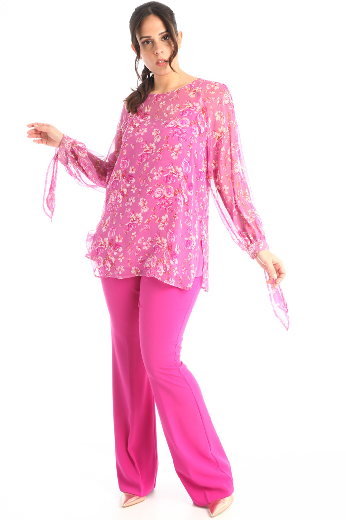 Silk georgette tunic Intrend