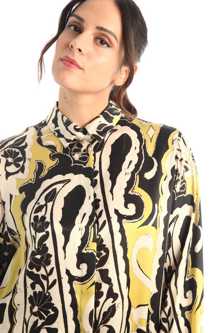 Silk satin shirt Intrend
