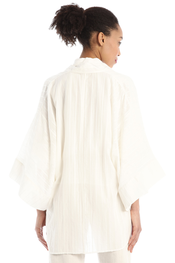 Cotton muslin tunic Intrend