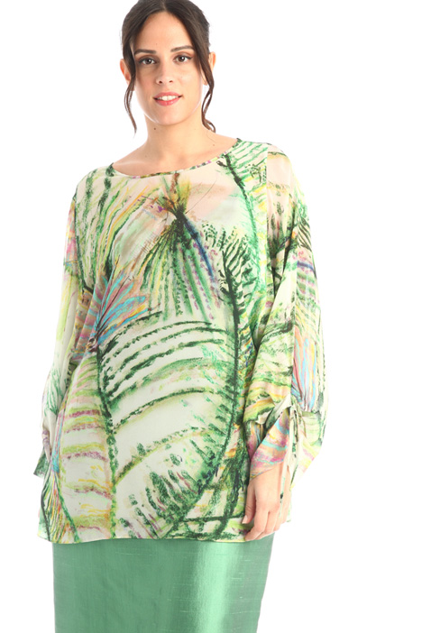 Printed chiffon tunic  Intrend