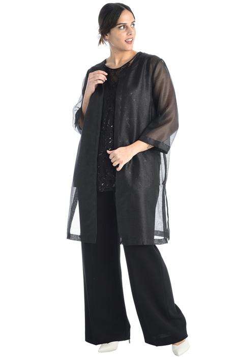 Lurex organza jacket Intrend