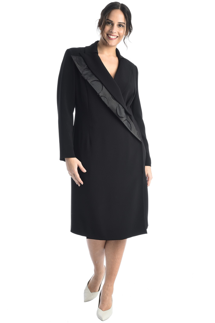 Double lapel dress Intrend