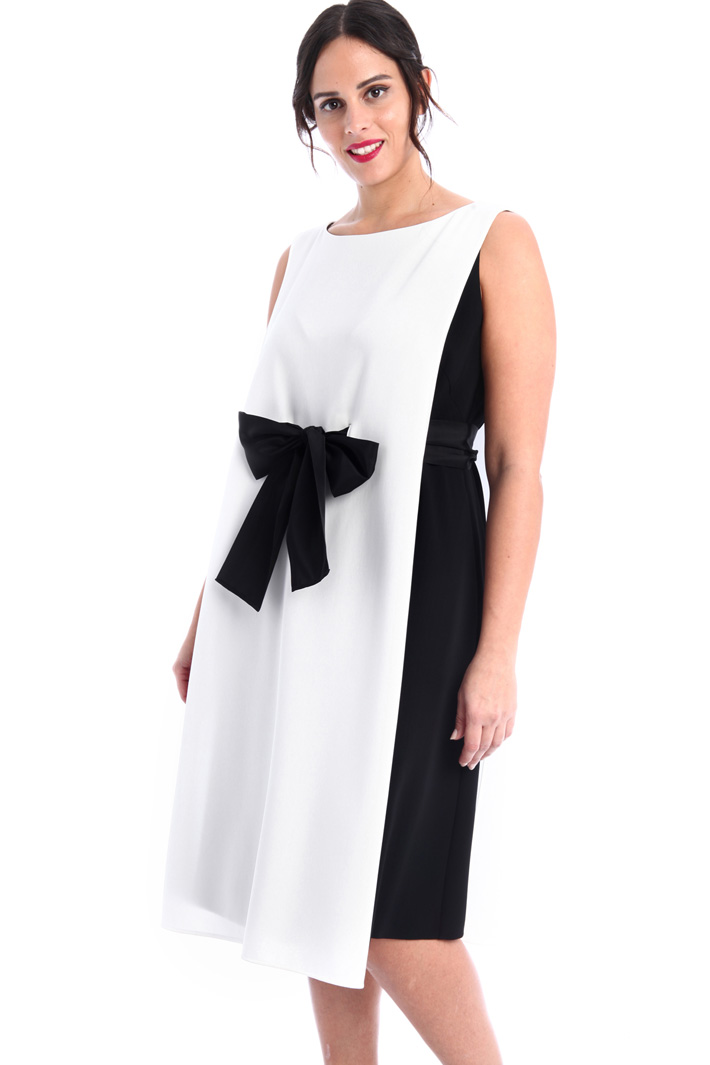 Bow detailed cady dress  Intrend