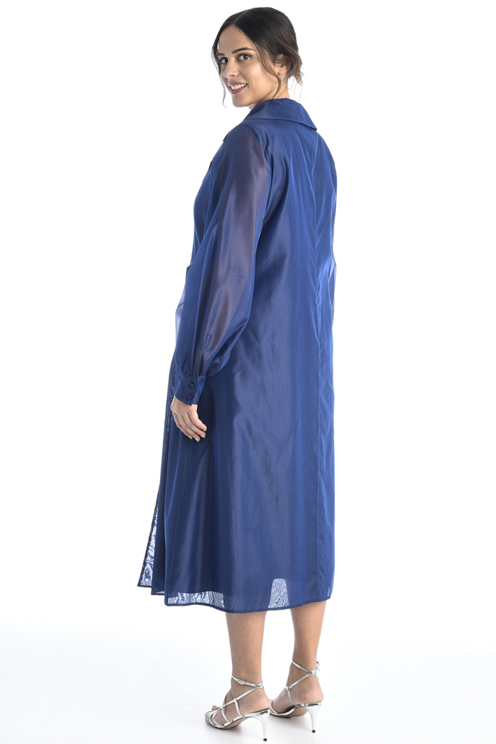 Silk organza dress Intrend
