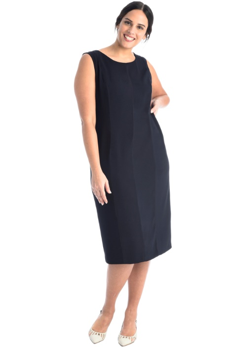 Crepe tube dress Intrend