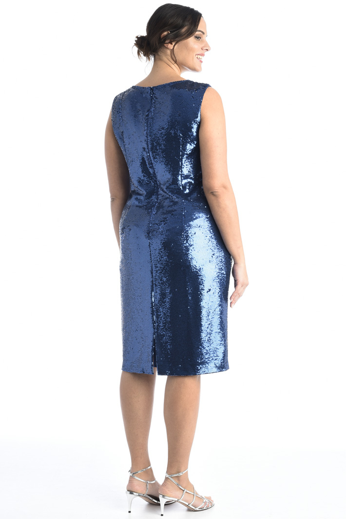 Sequinned sheath dress Intrend