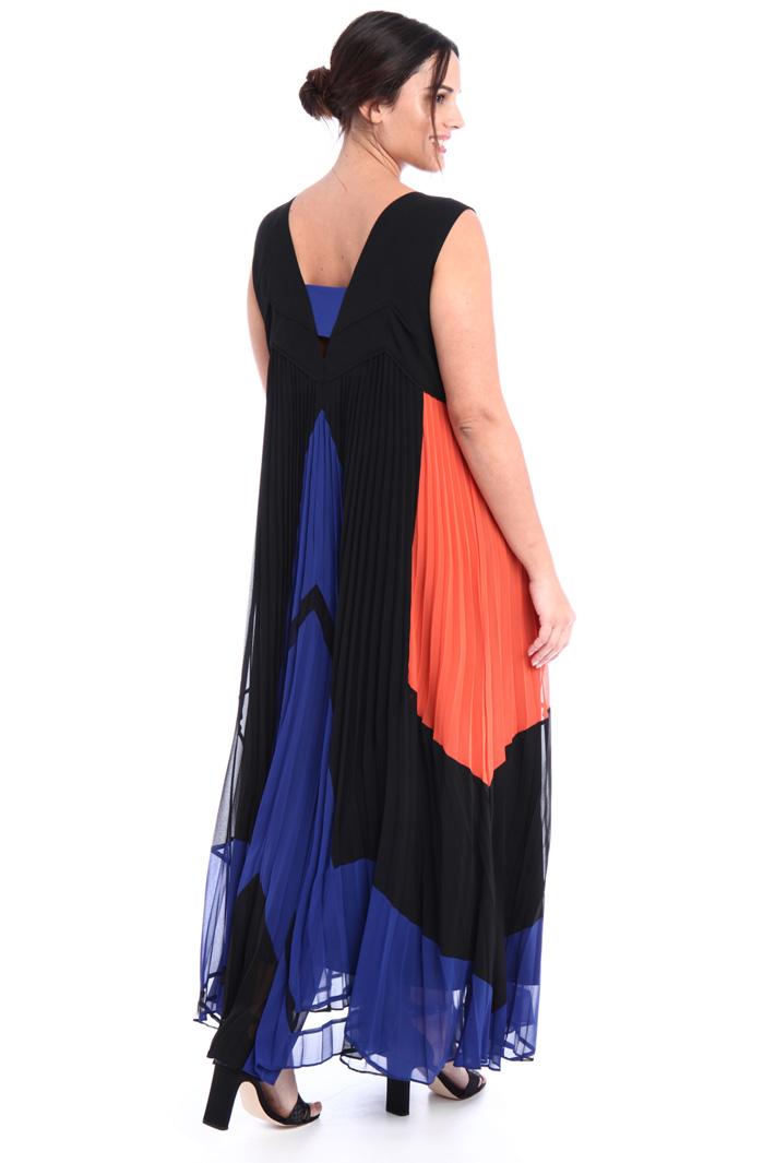 Long colour-block dress  Intrend
