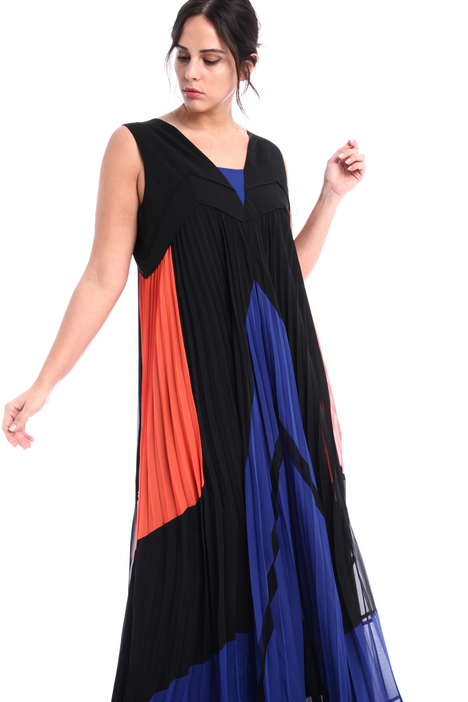 Long colour-block dress  Intrend
