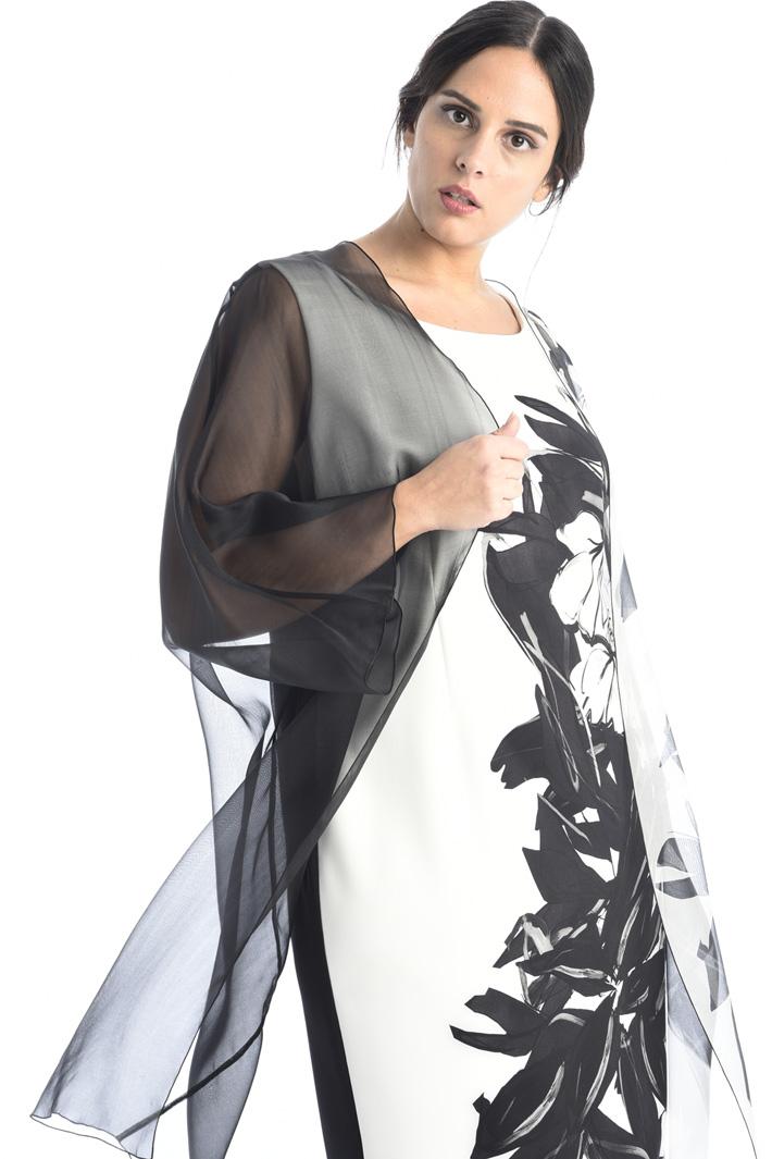 Sheath dress in cady Intrend