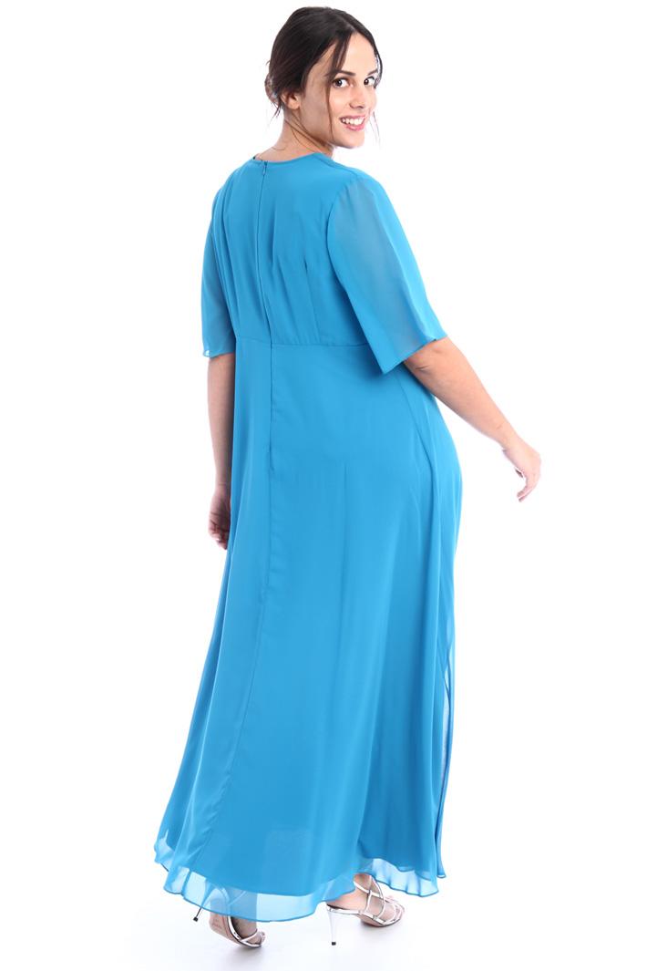 Fluid georgette dress Intrend