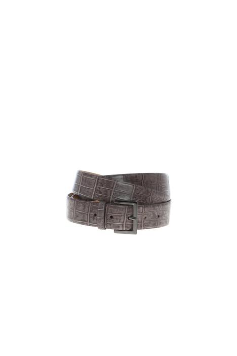 Croc print belt Intrend