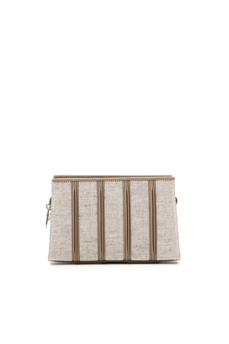 Laser cut clutch Bag Intrend