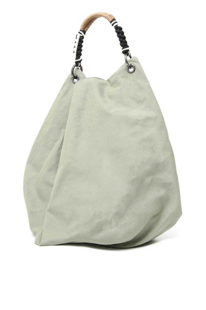Maxi bag in cotton canvas Intrend