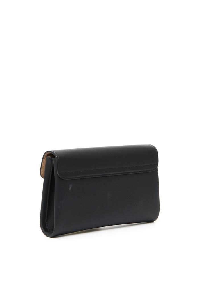 Leather pochette Intrend