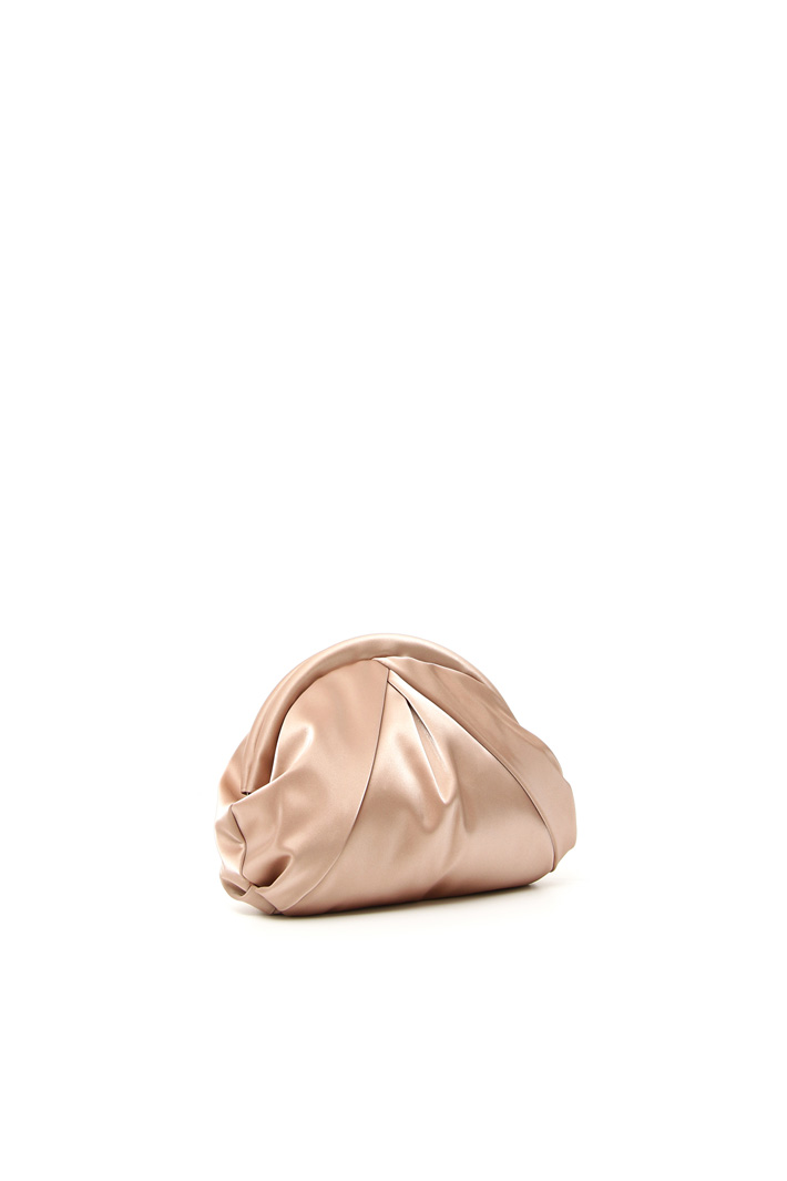 Glossy faux leather clutch Intrend