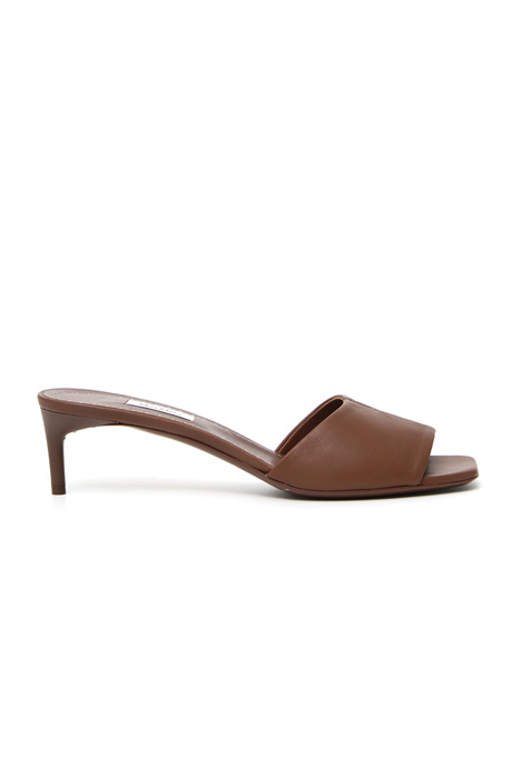 Nappa leather mules Intrend